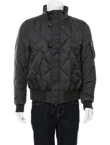 Burberry Beat Check-Lined Puffer Coat None