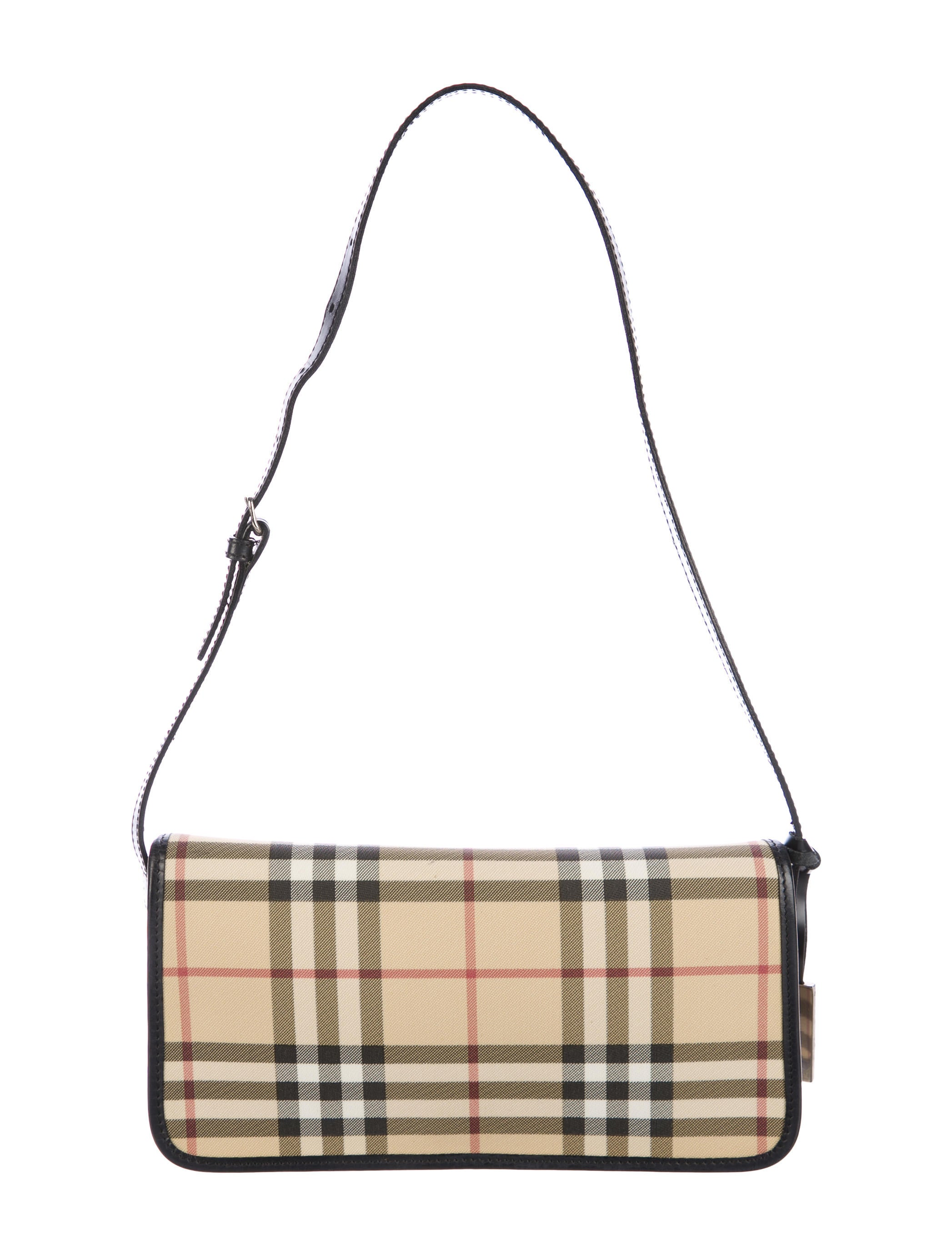 b148d1bb0d8 Burberry Small Nova Check Shoulder Bag - Handbags - BUR84420 | The ...