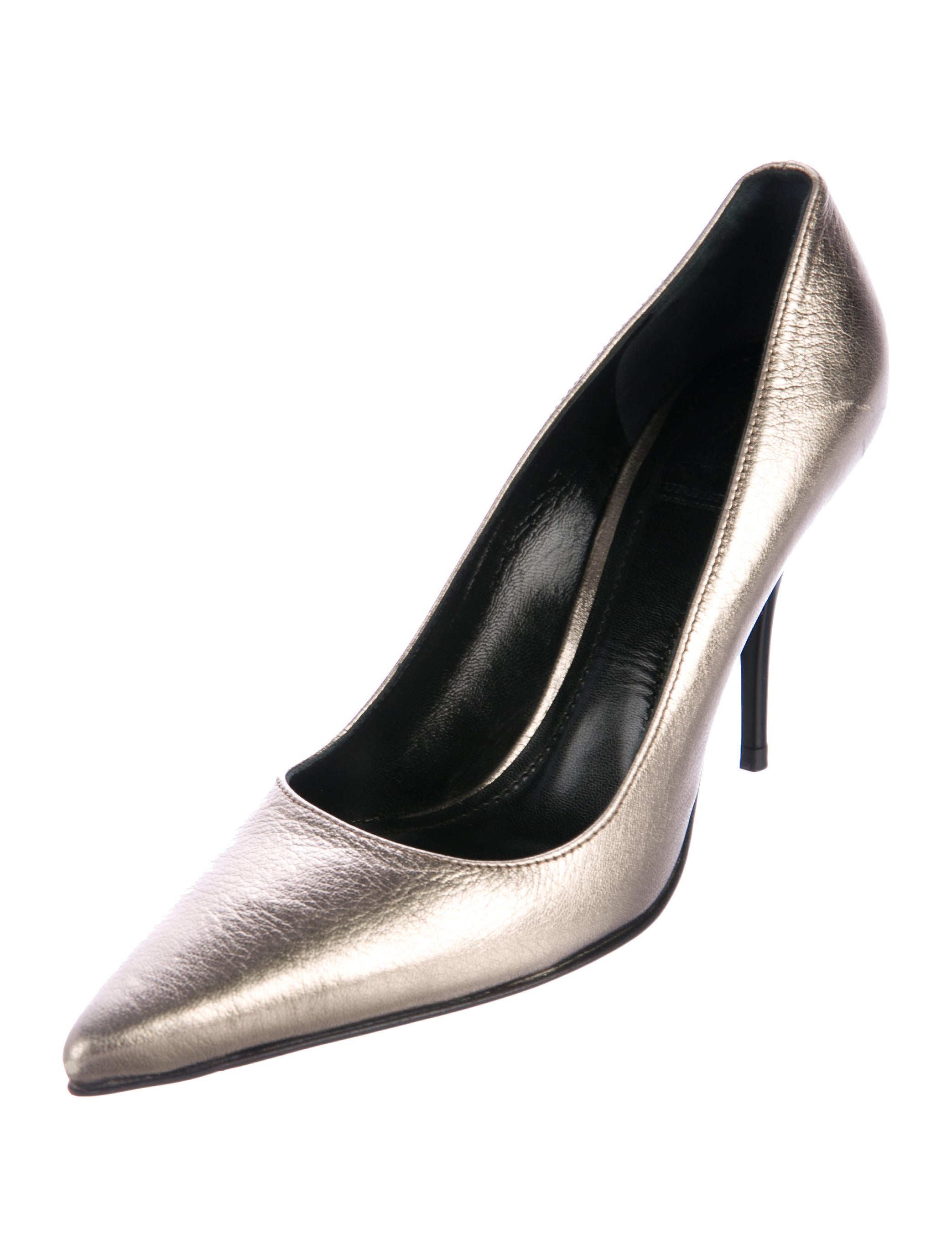 Burberry Metallic Pointed-Toe Pumps find great cheap online DvARzQ