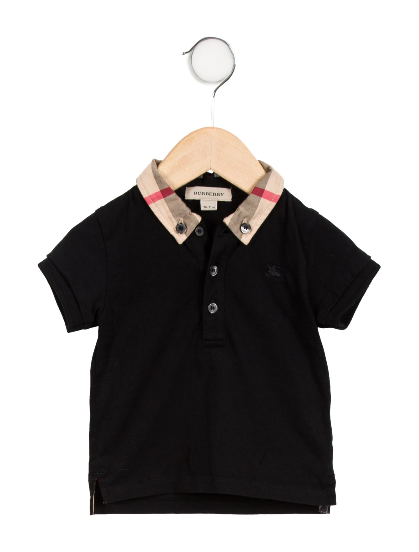 burberry baby polo shirt