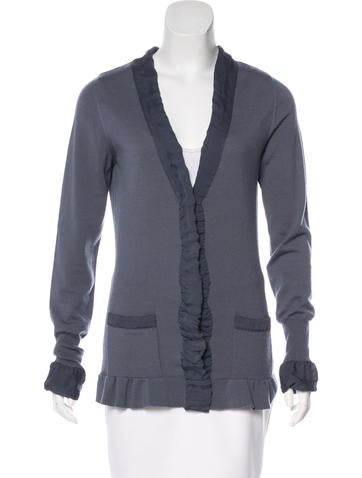 Burberry Knit Wool Cardigan None