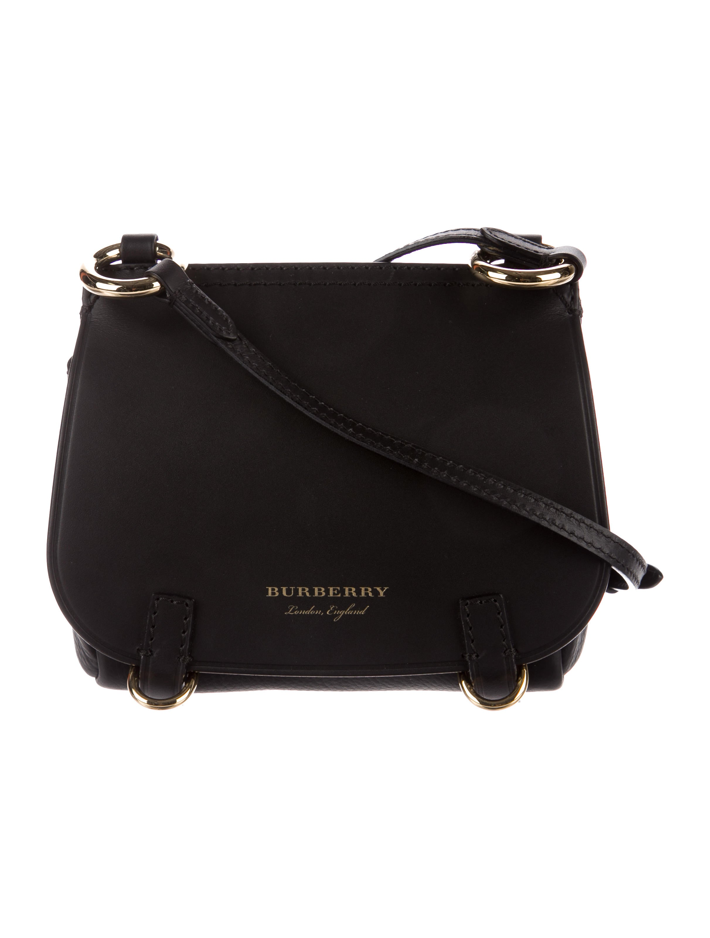 Burberry Baby Bridle Leather Crossbody Bag - Handbags - BUR84639 ... a59321b4cddac