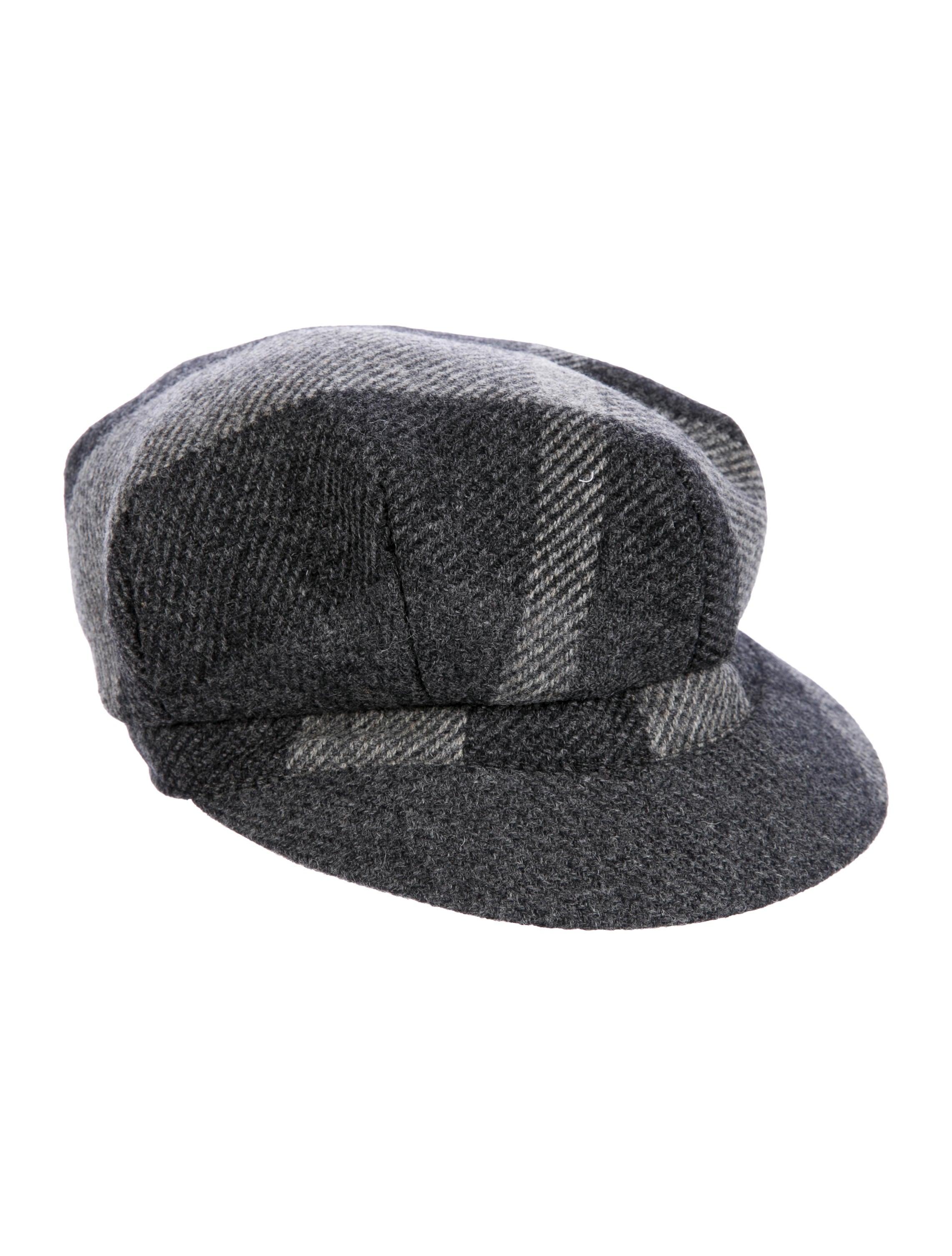 6b349094310 Burberry Beat Check Newsboy Hat - Accessories - BUR85095