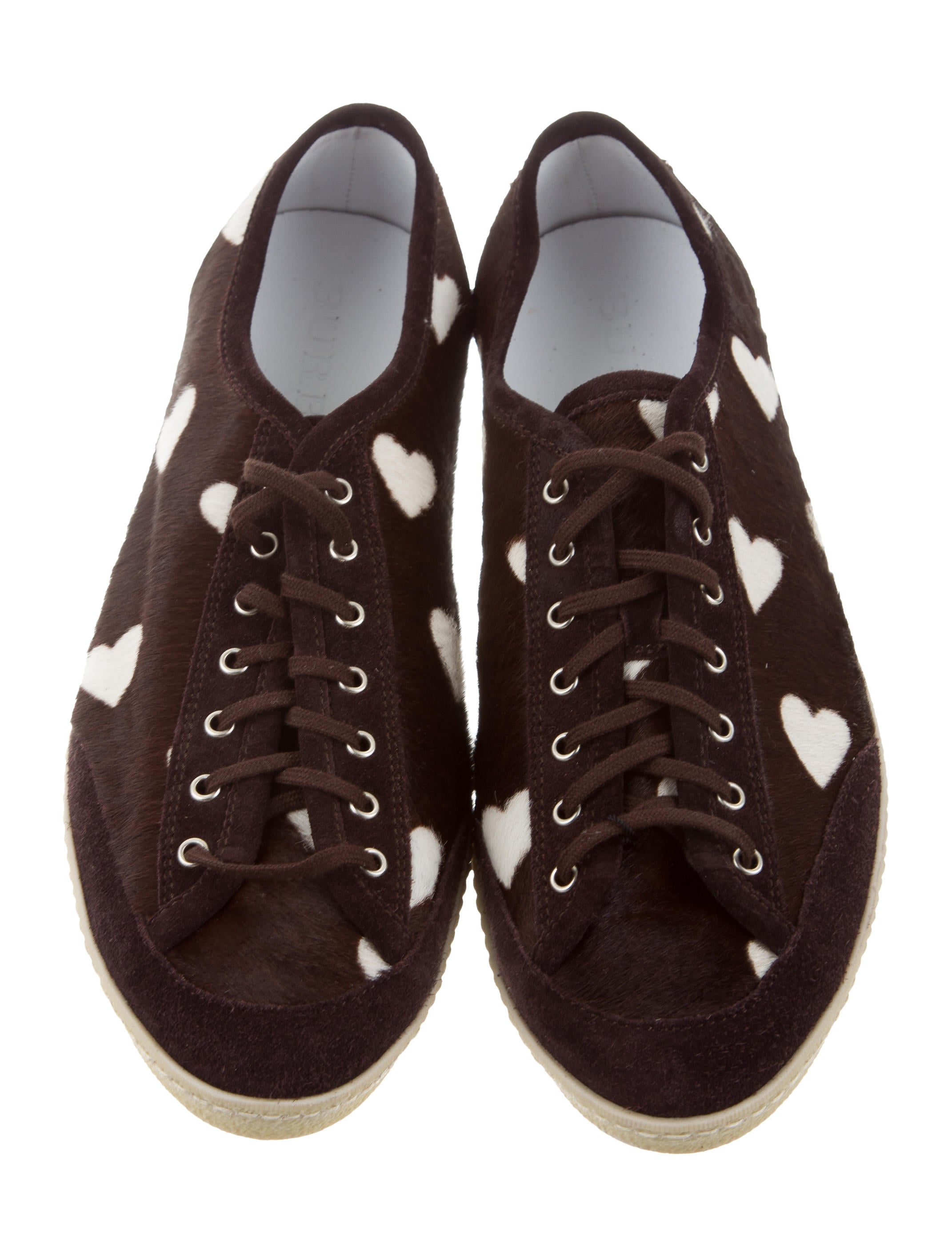 Burberry Ponyhair Heart Sneakers w/ Tags brand new unisex cheap price buy cheap view buy cheap best seller free shipping clearance ntQi5x