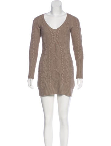 Burberry Wool Sweater Dress None