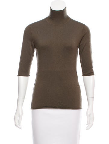 Burberry Silk-Blend Knit Sweater None