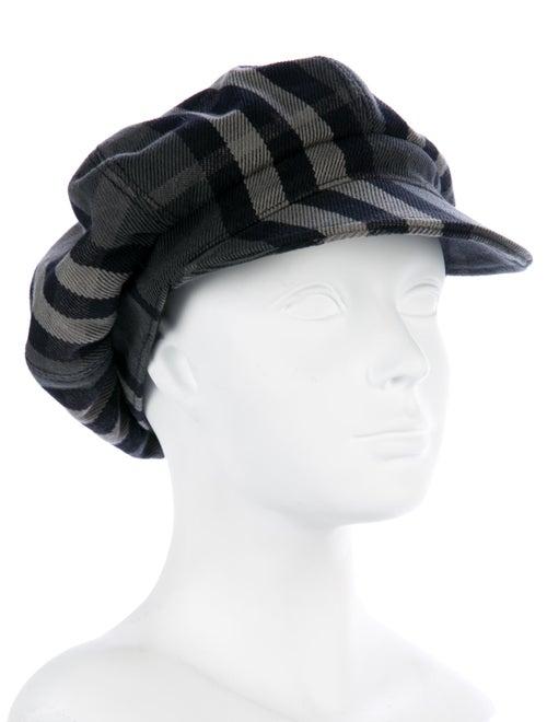 c786764096f Burberry Beat Check Newsboy Hat - Accessories - BUR85580
