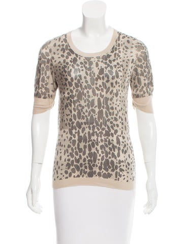 Burberry Printed Silk Top None