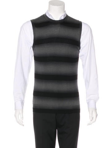 Burberry Striped Sweater Vest None