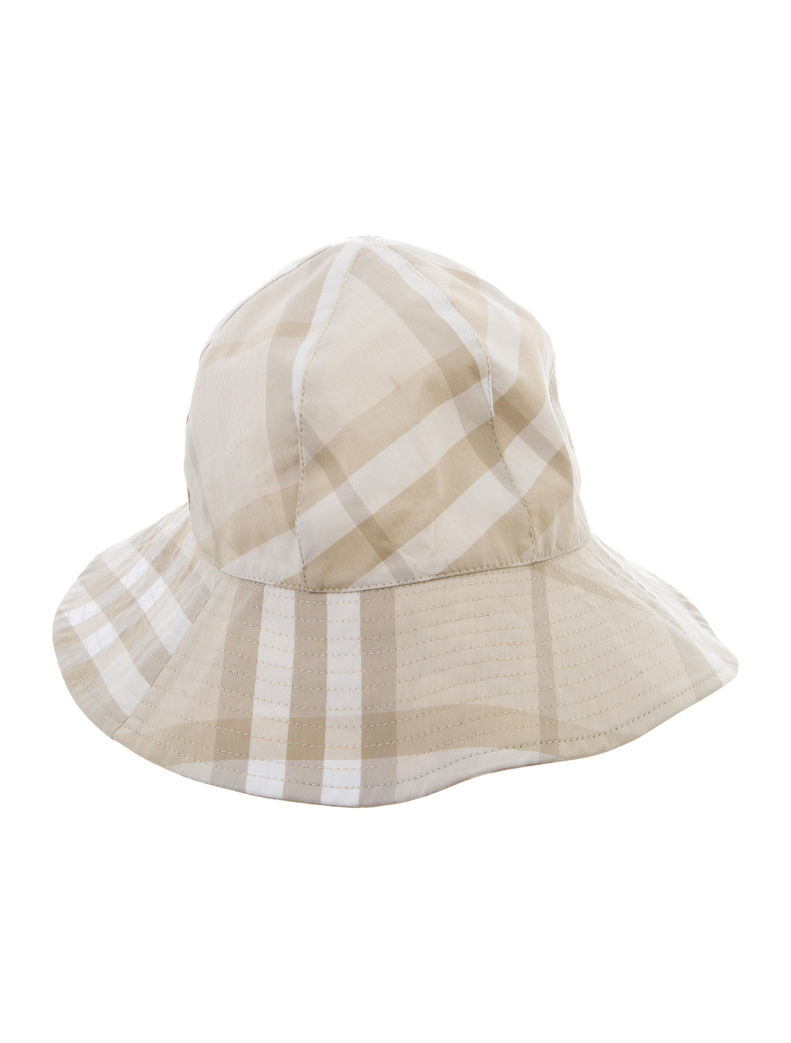 Burberry Nova Check Bucket Hat - Accessories - BUR86590  dd77ab5ca38