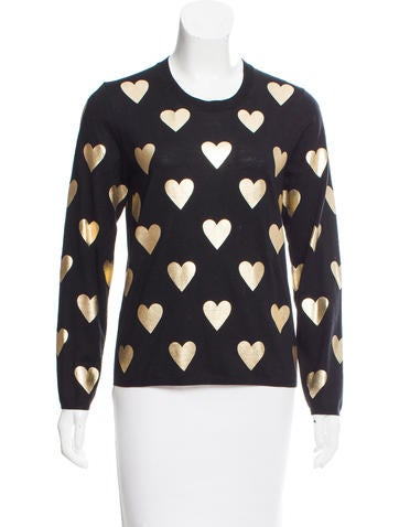 Burberry Printed Wool Sweater None