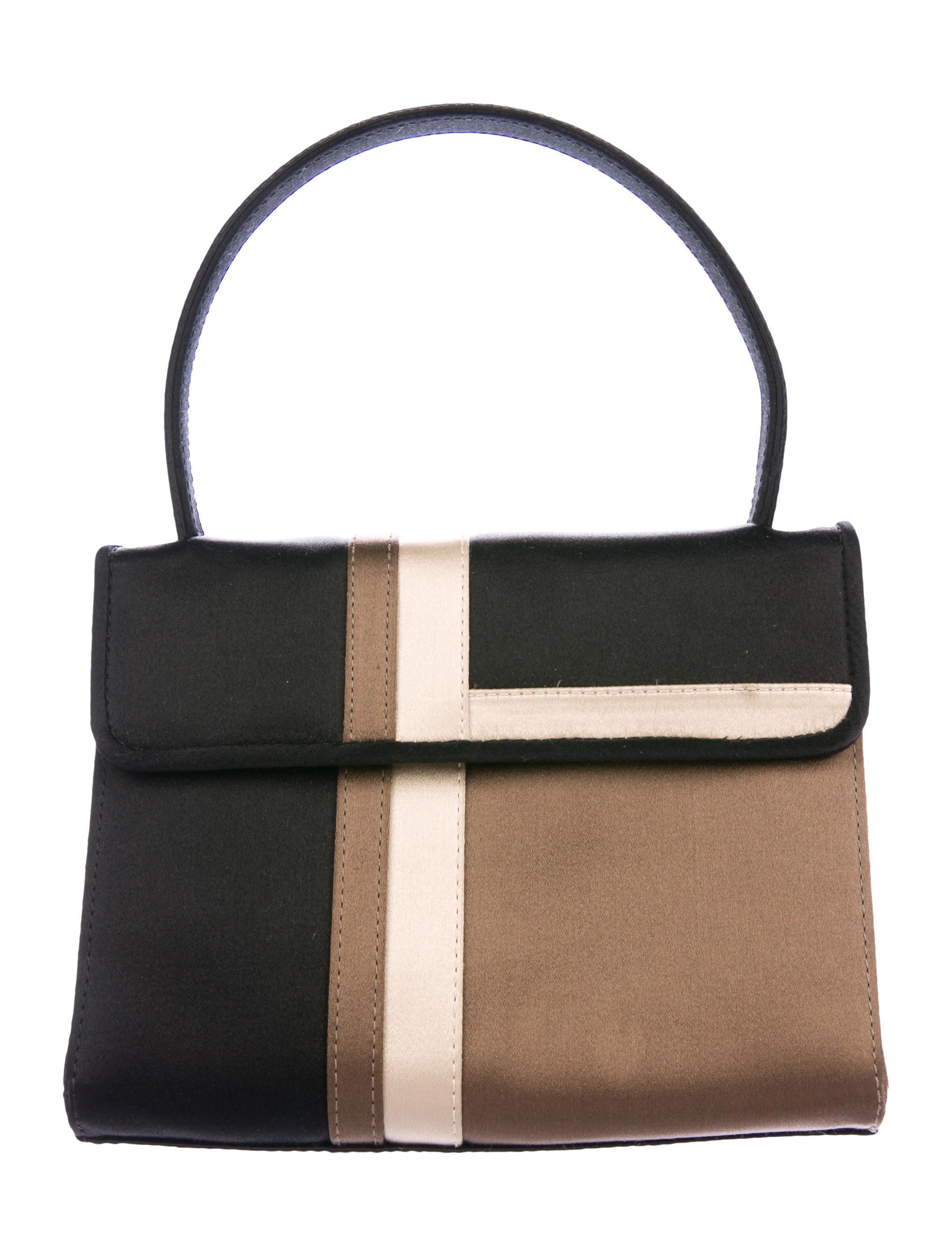 Satin Handle Bag by Burberry