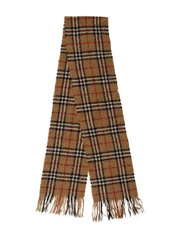 Burberry Wool Nova Check Scarf None