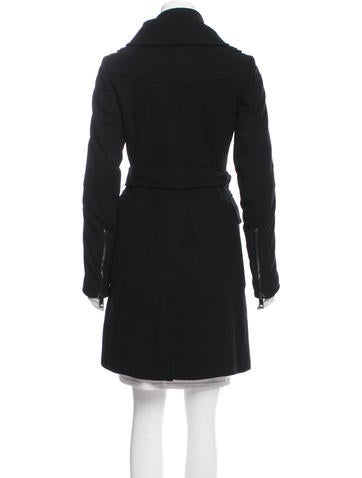 Tailored Knee-Length Coat