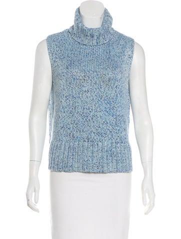 Burberry Silk Sleeveless Sweater None