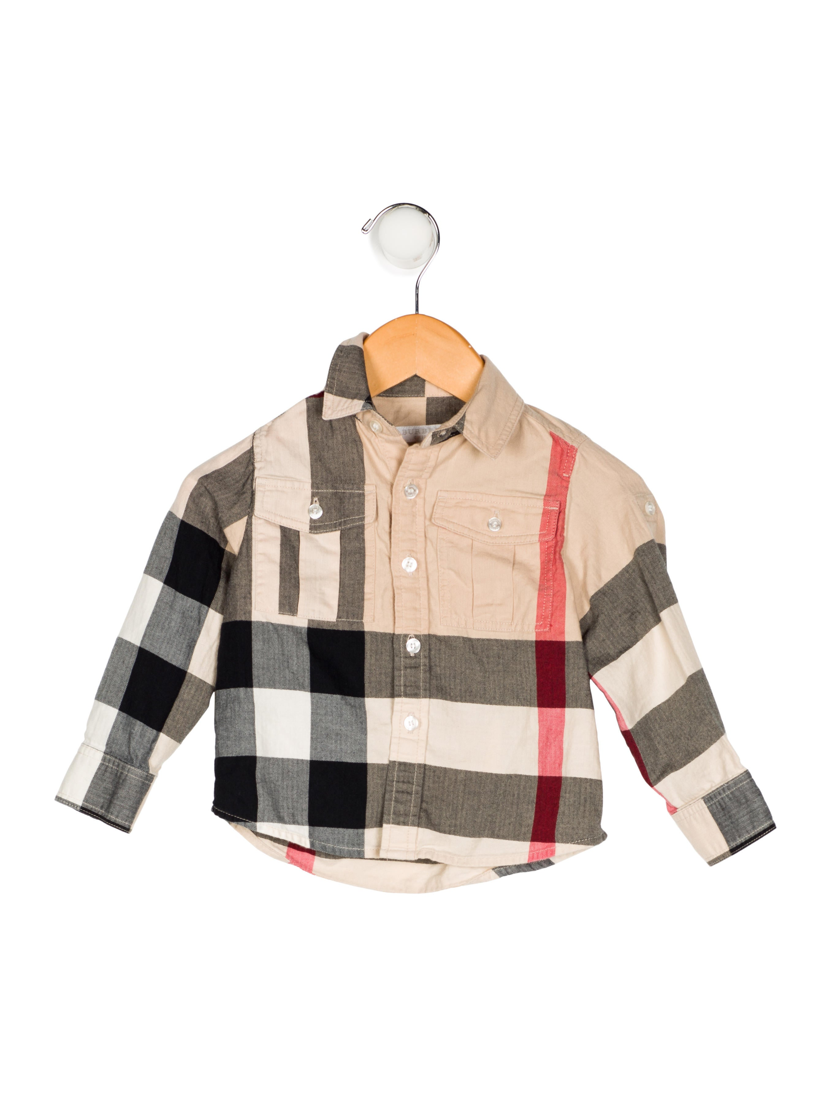 8163ec0d Burberry Boys' Exploded Check Print Shirt - Boys - BUR87330 | The ...