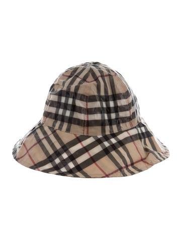 1525574d018 Burberry Nova Check Bucket Hat - Accessories - BUR88000