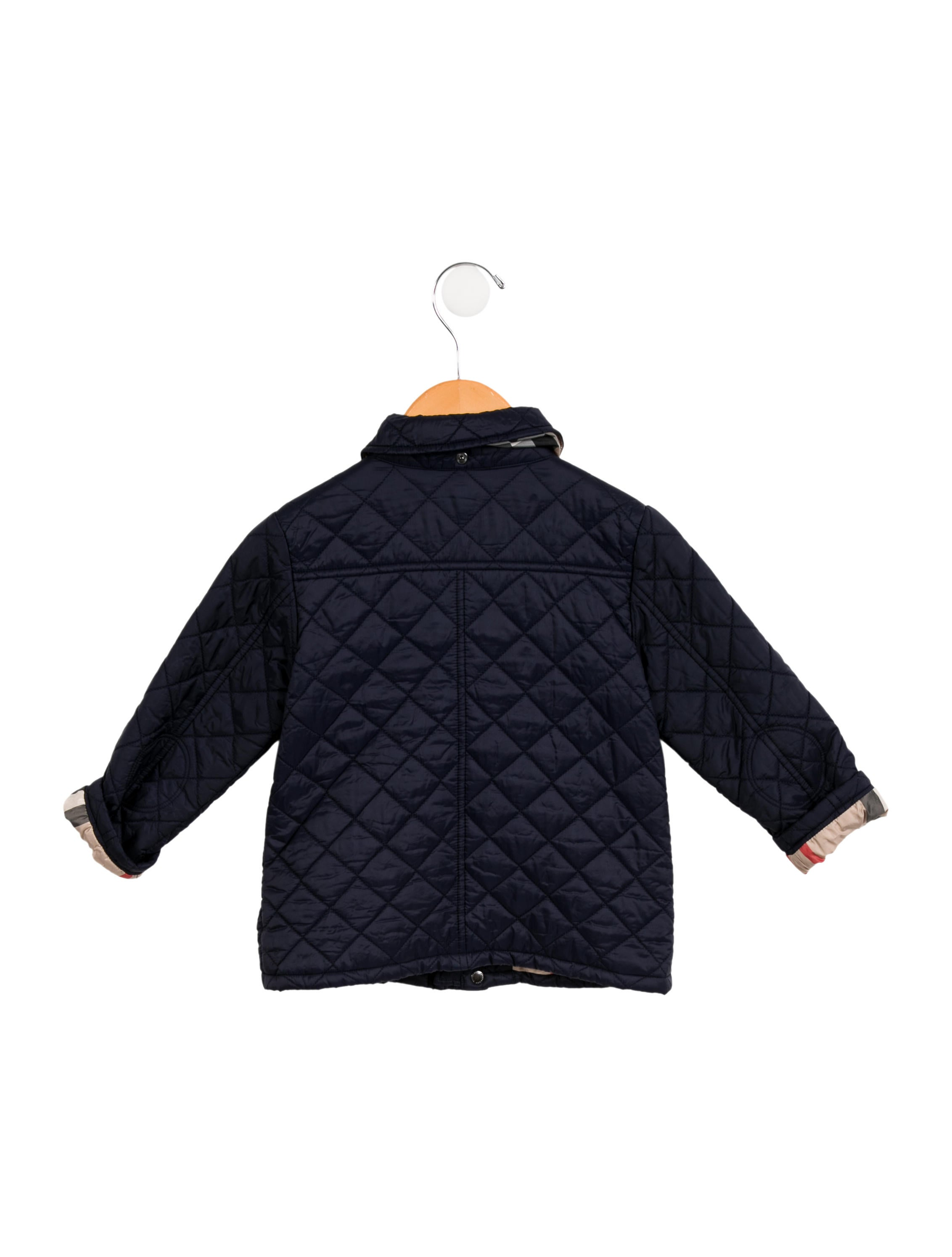 Burberry Boys Quilted Jacket Boys Bur88452 The Realreal