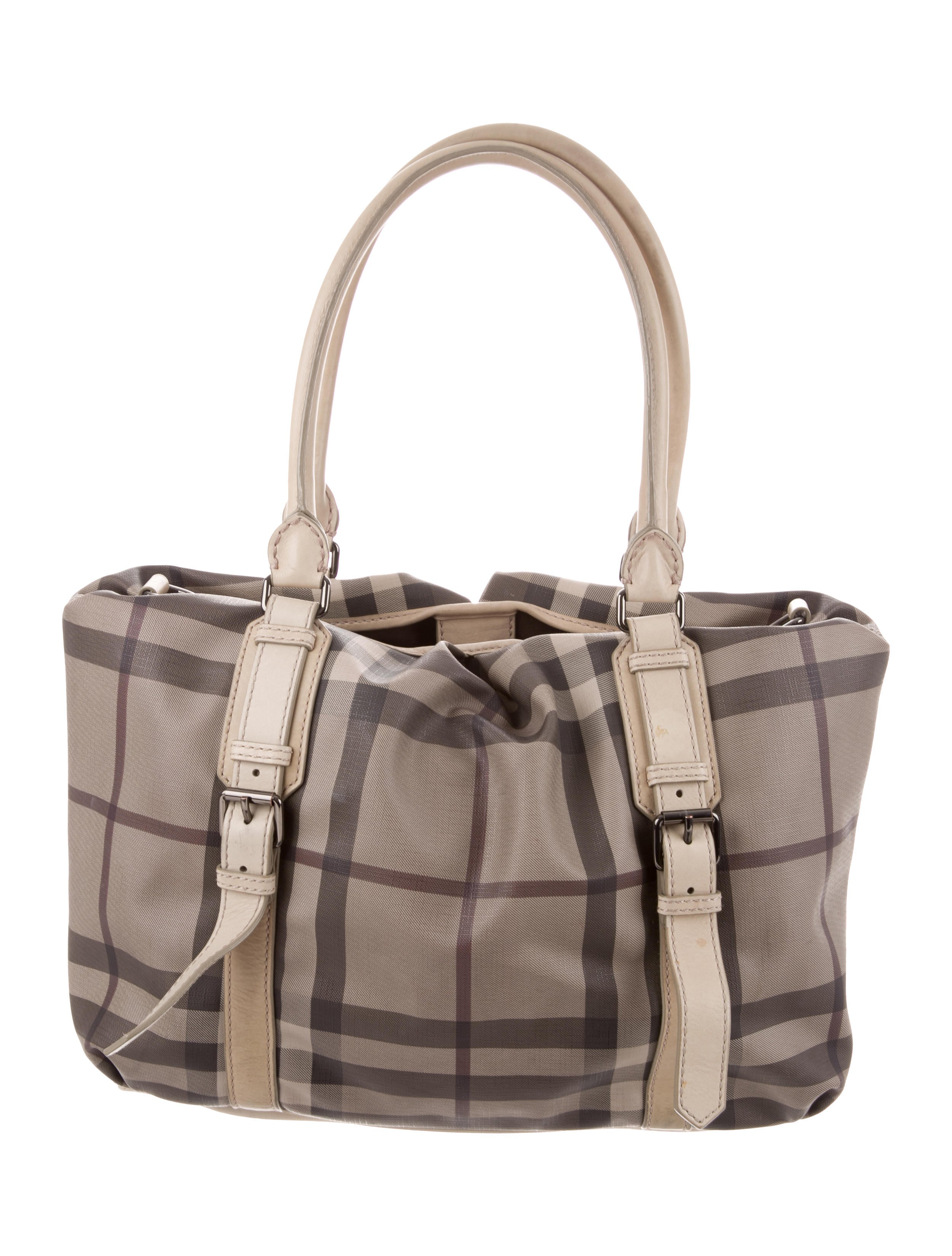 01259b29588b Burberry Smoked Check Northfield Tote - Handbags - BUR89209
