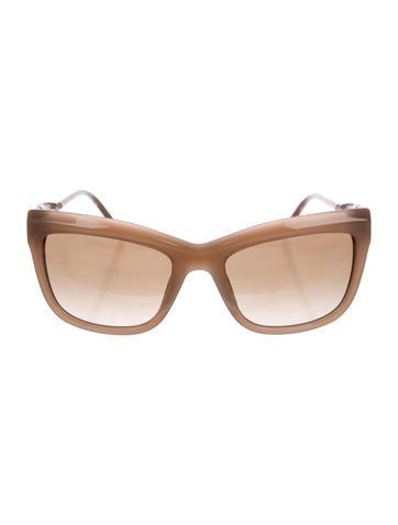 Cat-Eye Gradient Sunglasses w/ Tags