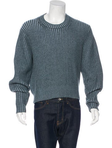 Burberry Heavy Knit Crew Neck Sweater None