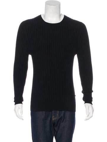 Burberry Cashmere Rib Knit Sweater None