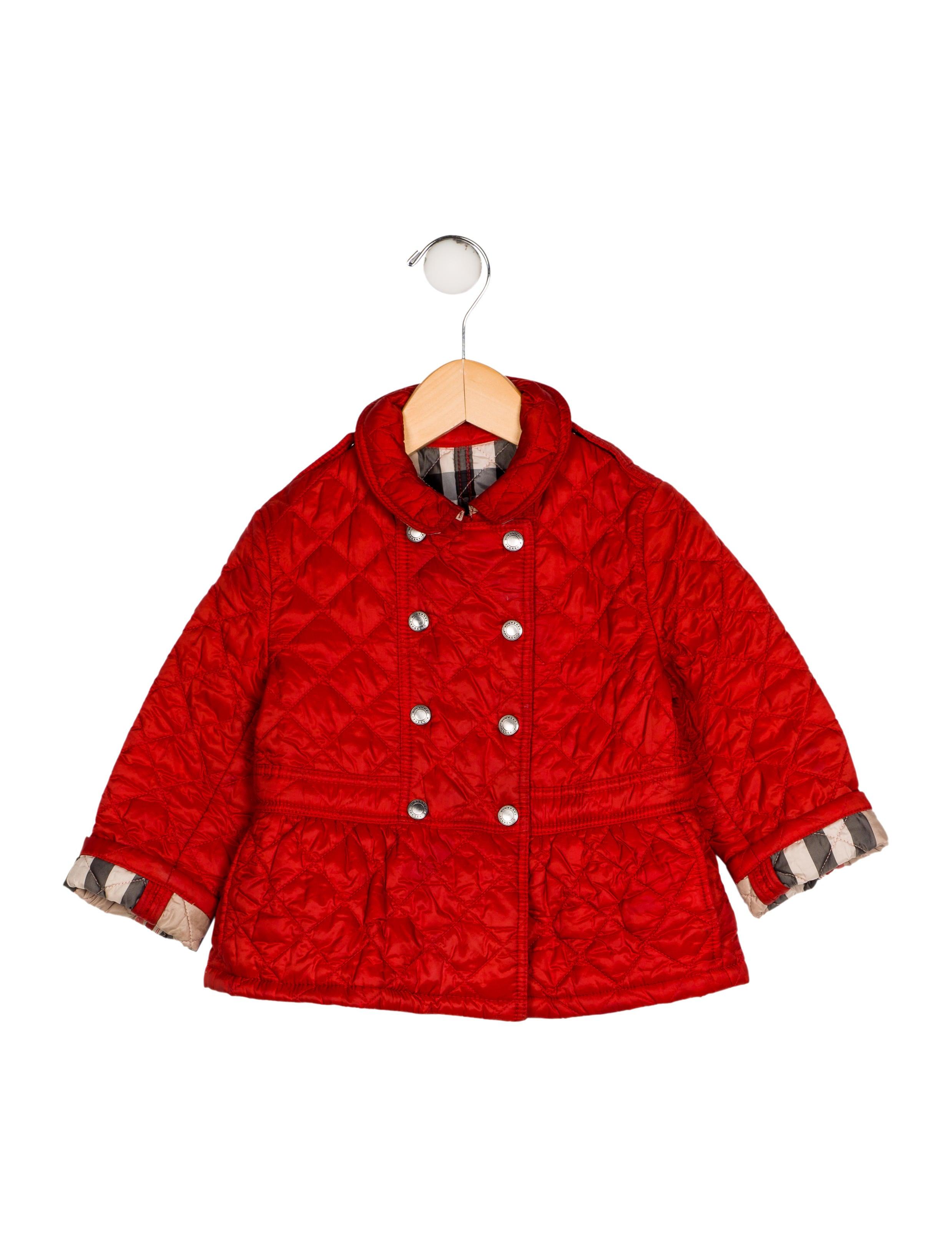 0fa990748919 Burberry Girls  Quilted Lightweight Coat - Girls - BUR92123