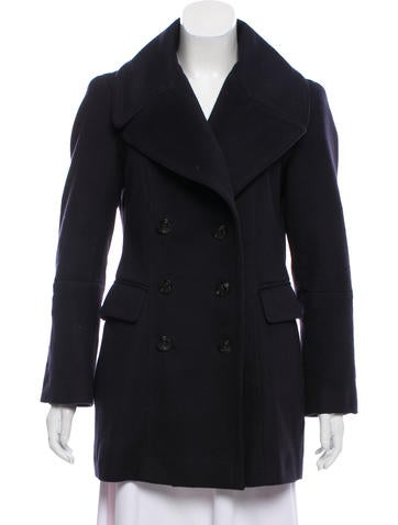 Burberry Wool & Cashmere Coat None
