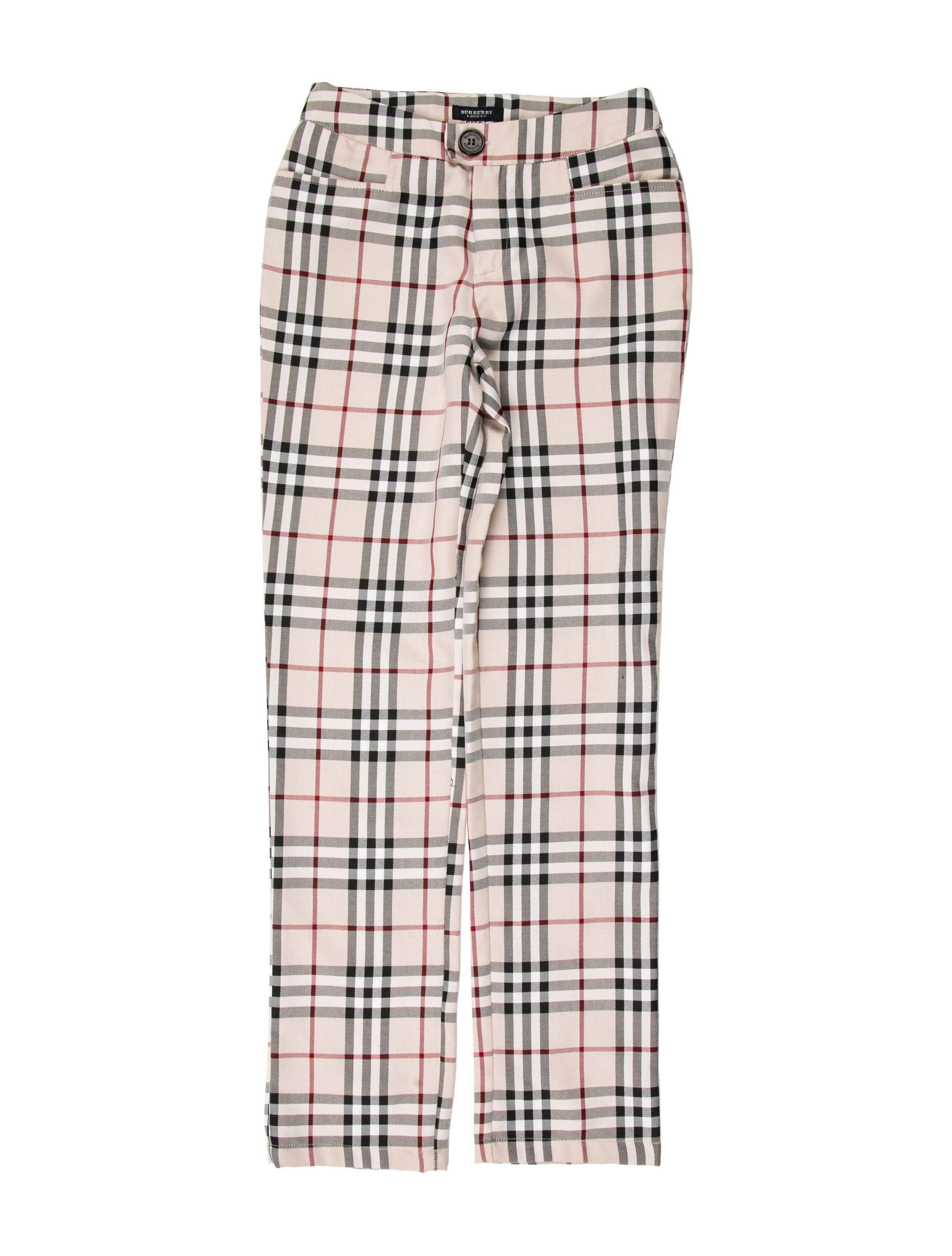b90f7f72b611 Burberry Vintage Mid-Rise Pants - Clothing - BUR92785
