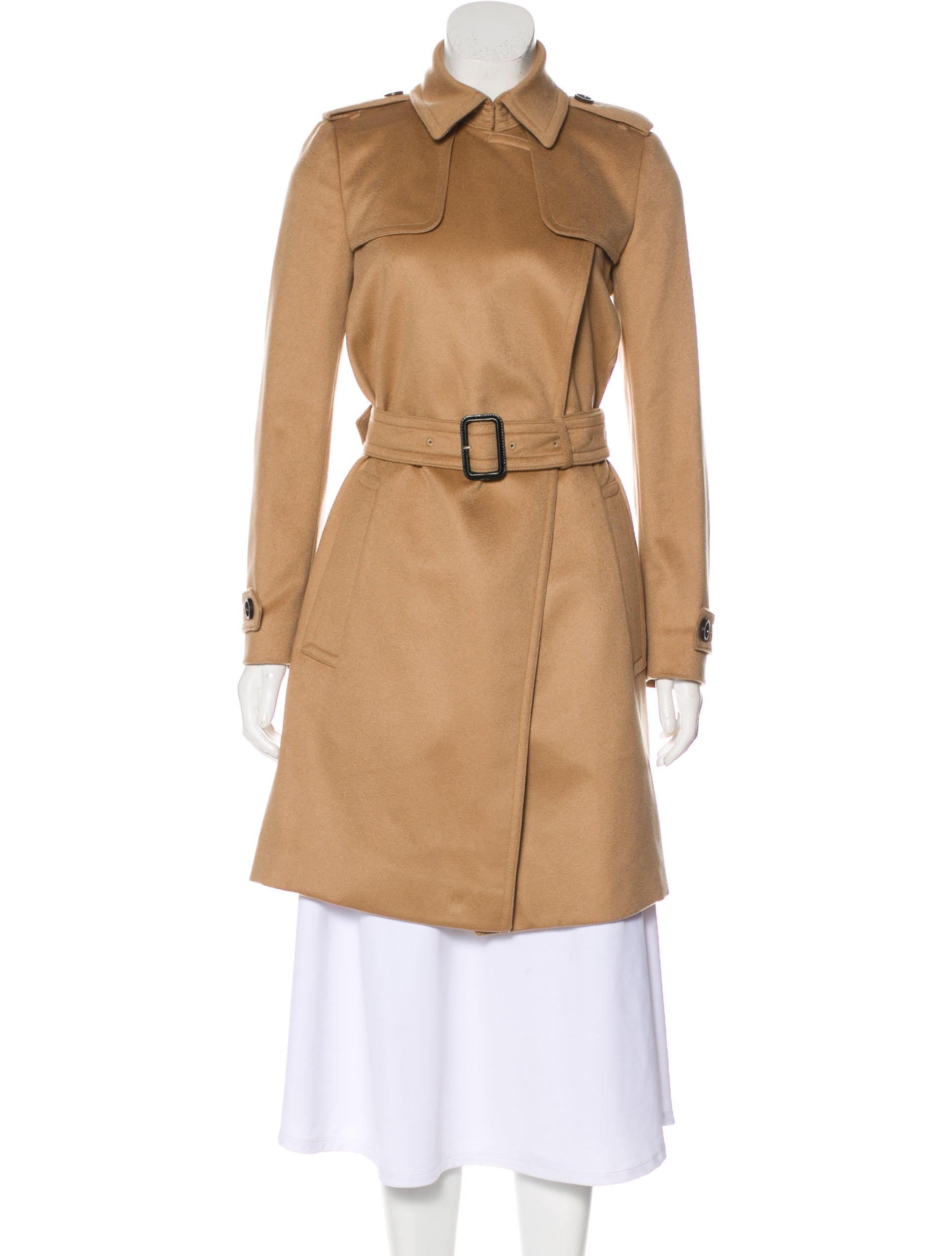 lovely design quality and quantity assured novel style Burberry Cashmere Wrap Coat