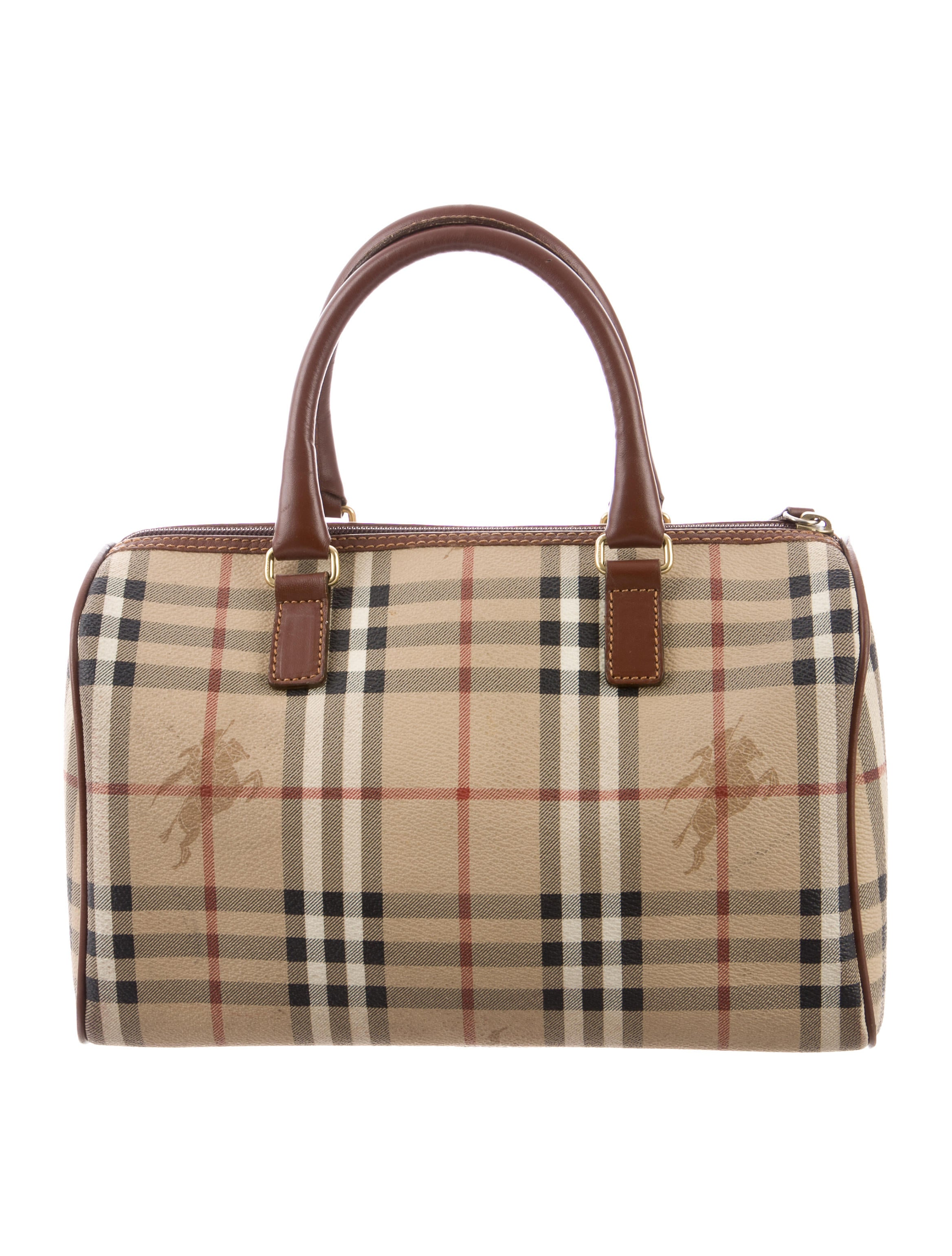 Burberry Haymarket Check Chester Bag - Handbags - BUR94733  68c7702f57a2c