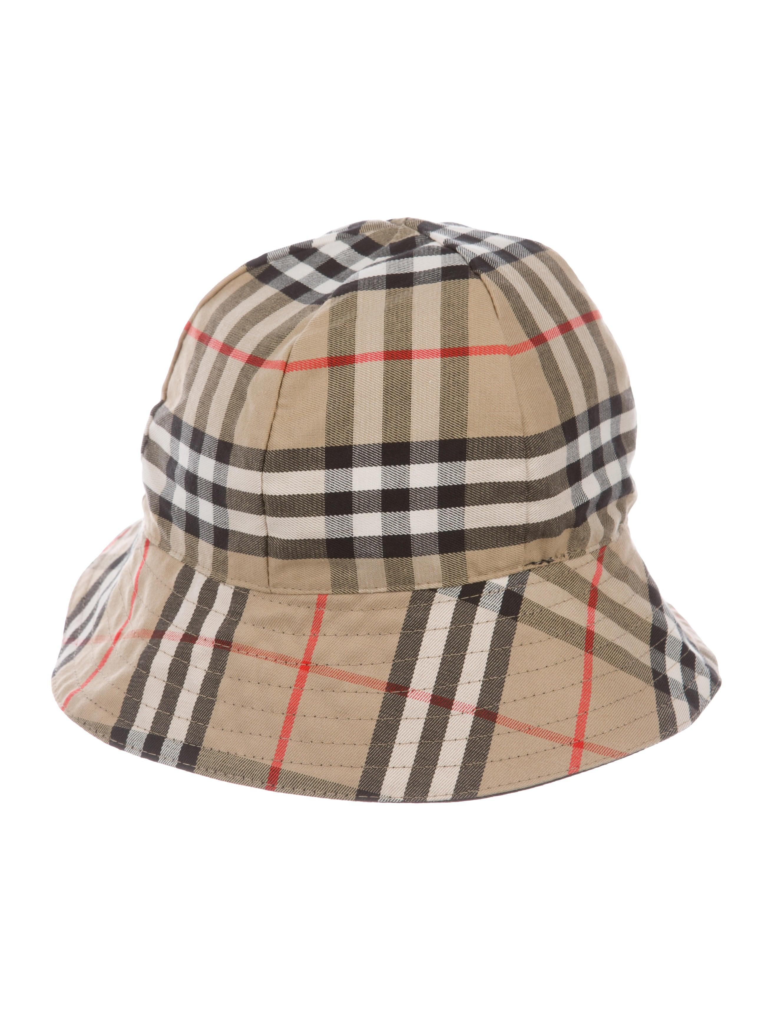 Burberry Nova Check Reversible Hat - Accessories - BUR95064  7c61170f783