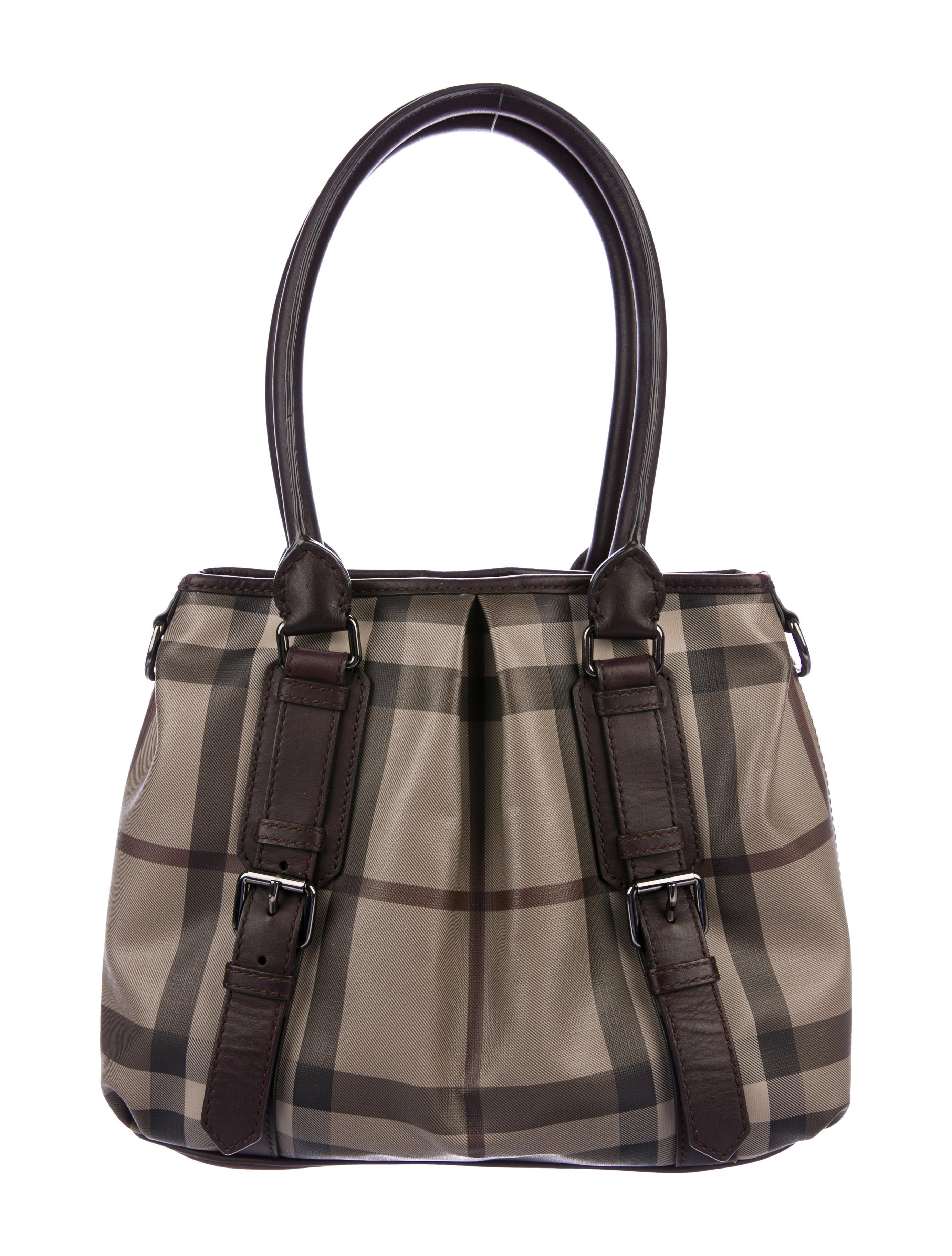 dc21961a717f Burberry Smoked Check Northfield Tote - Handbags - BUR95878