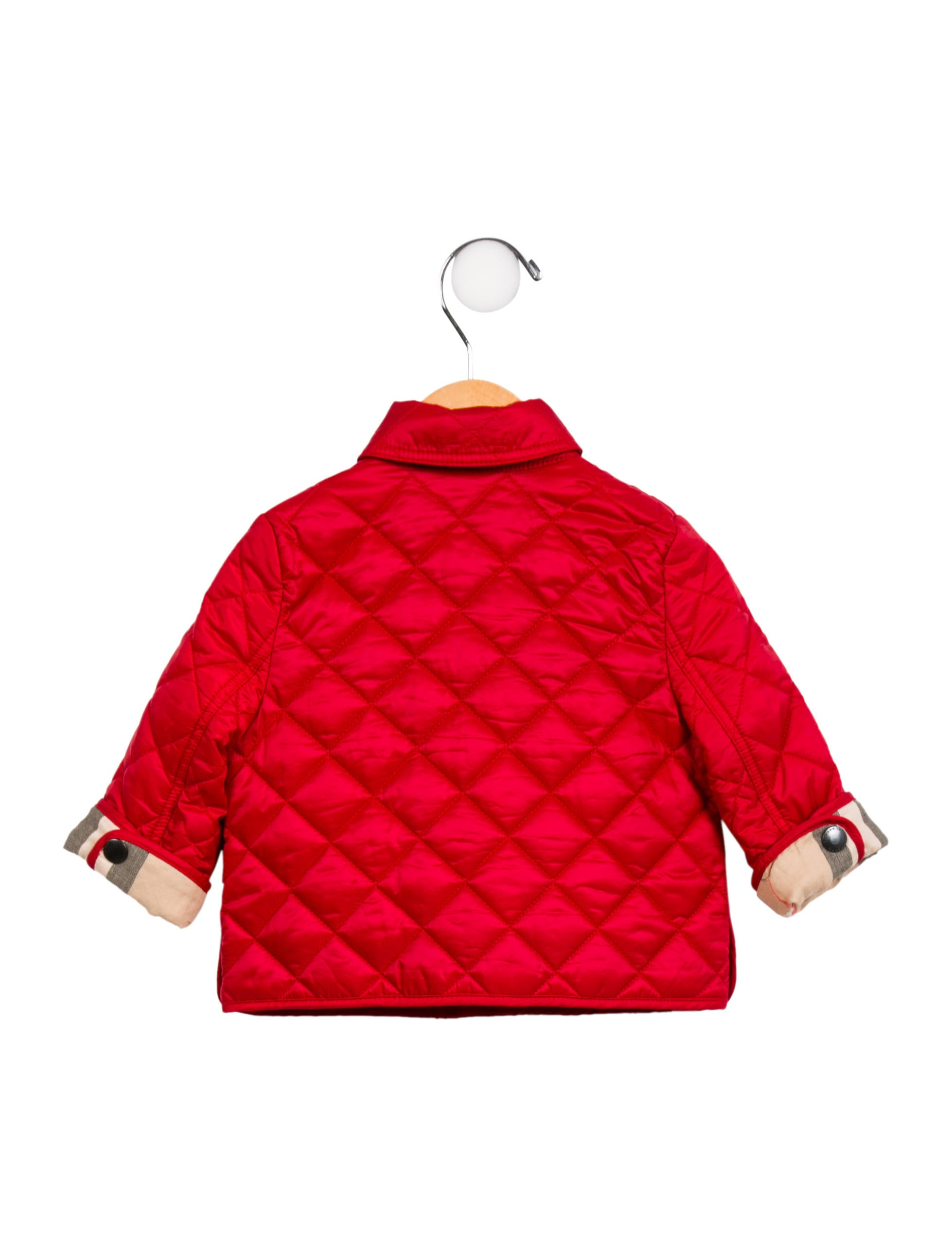 Burberry Boys Quilted Zip Up Jacket Boys Bur96532 The Realreal