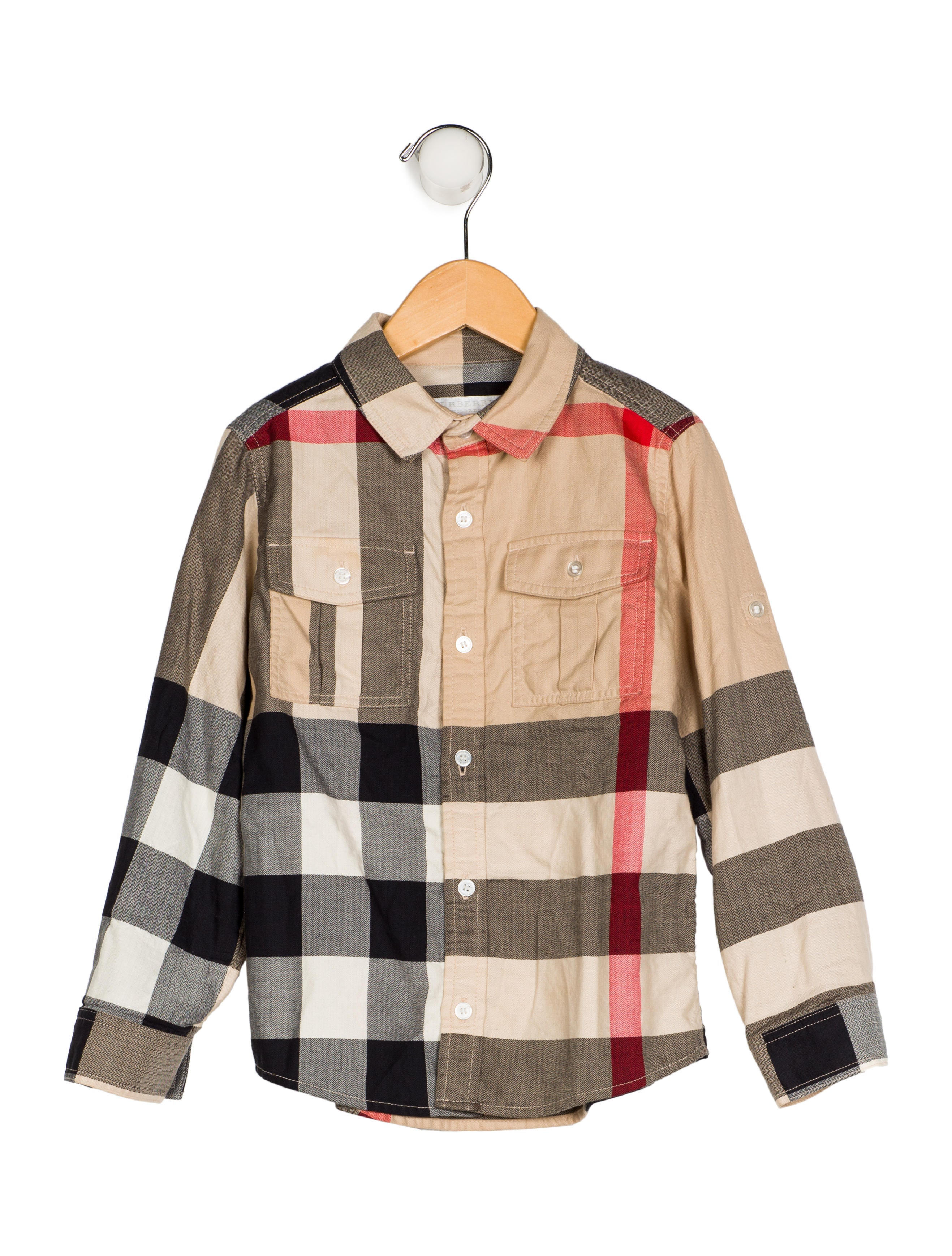 c7e80e4e Burberry Boys' Exploded Check Print Shirt - Boys - BUR96546 | The ...