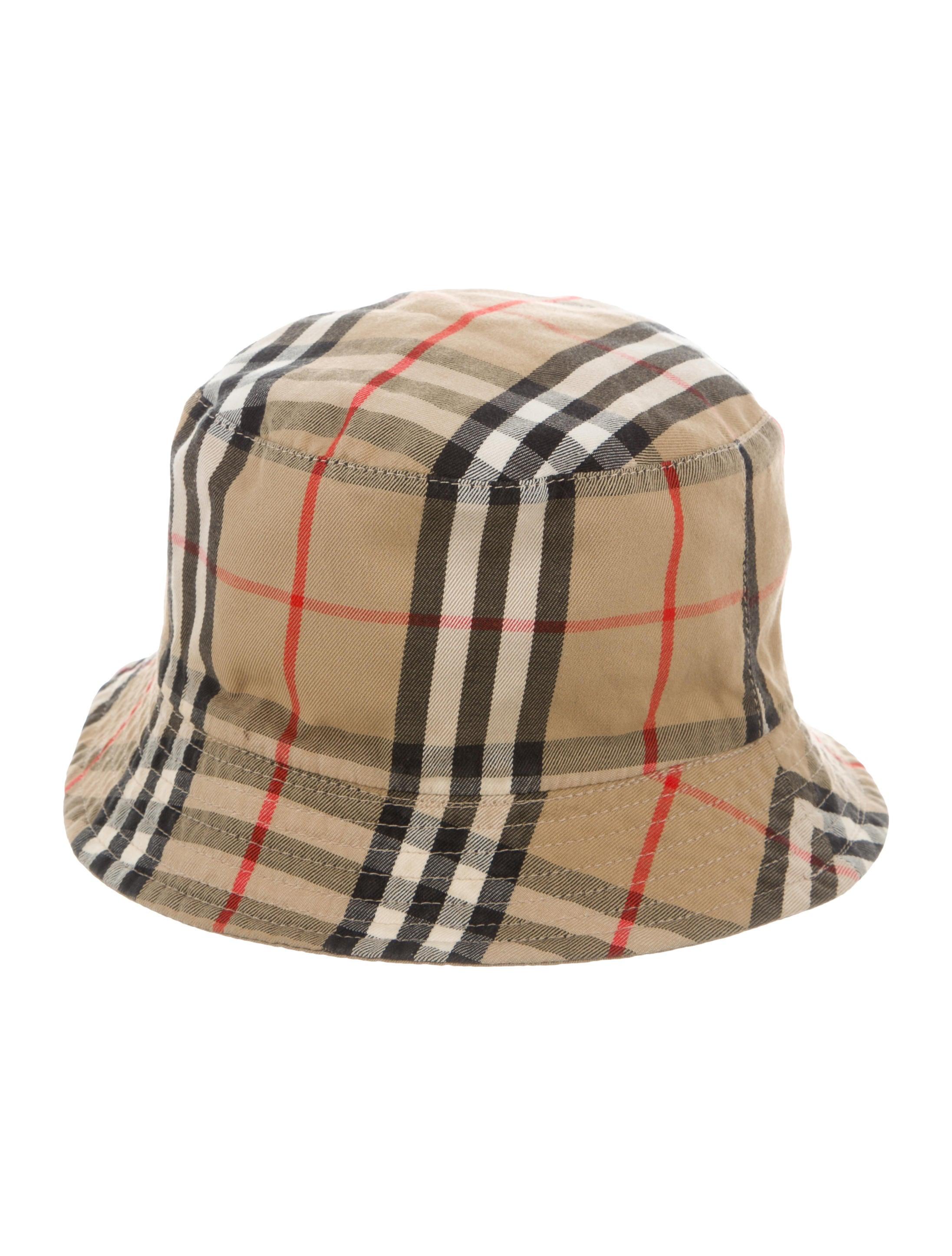Burberry Nova Check Reversible Hat - Accessories - BUR96630  ee1c55b98e6