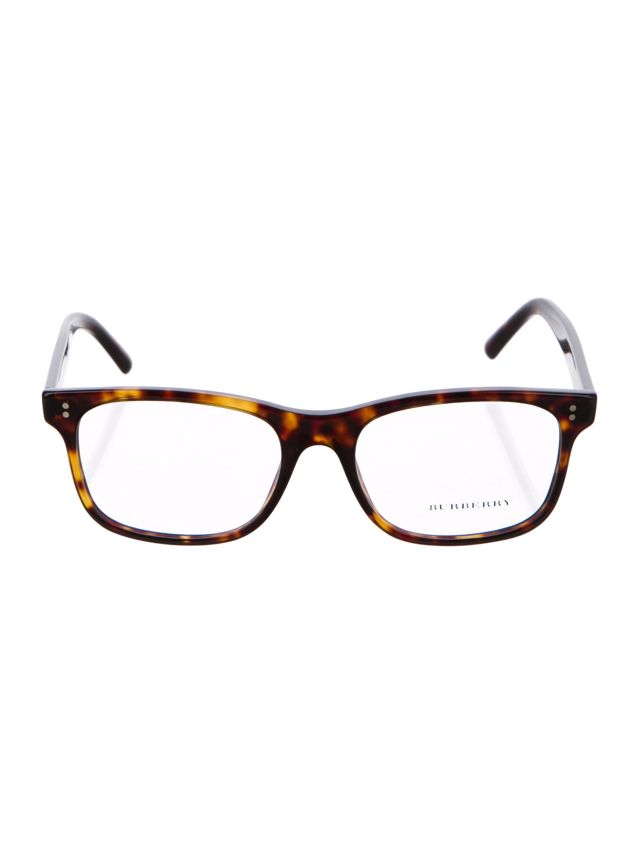 48d03a23efef Burberry Tortoiseshell Square Eyeglasses - Accessories - BUR97436 ...