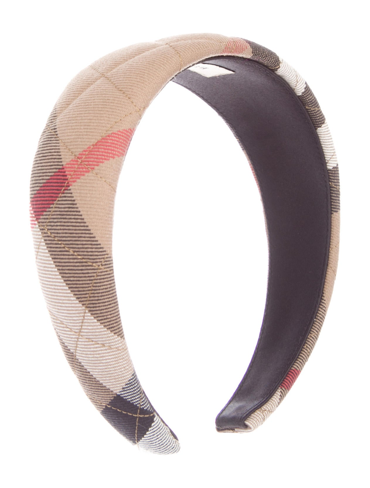 a9a4d508f0f4 Burberry Quilted Nova Check Headband - Accessories - BUR97937   The ...