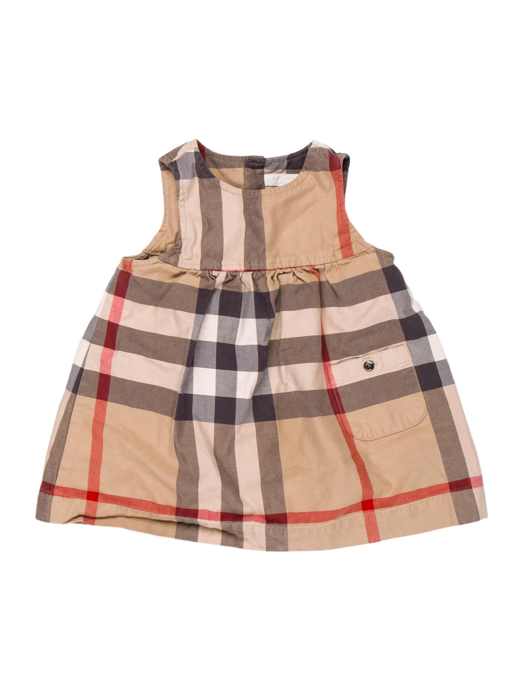 ddce2107119f Burberry Girls  Nova Check Flare Dress - Girls - BUR98443