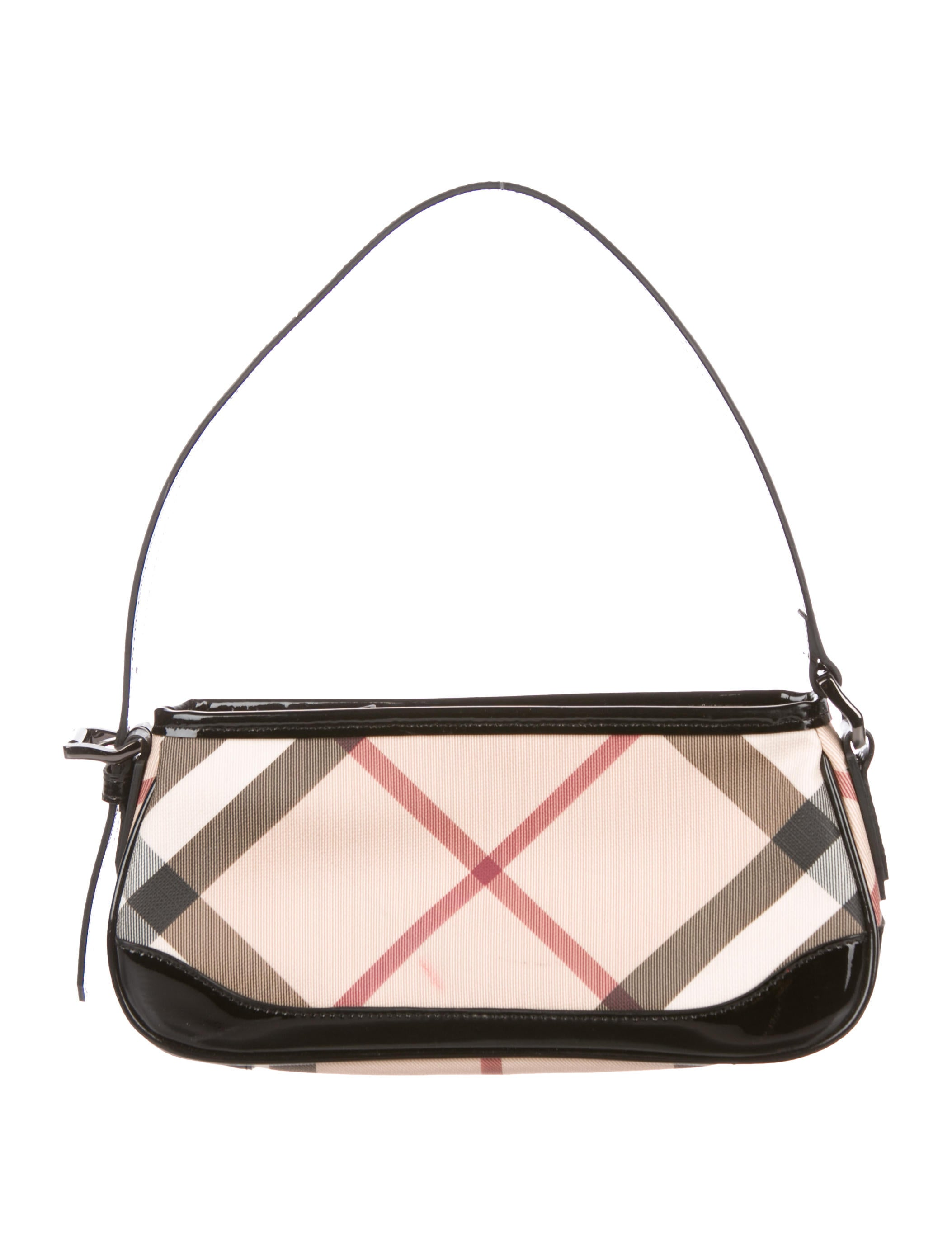 Nova Check Handle Bag by Burberry