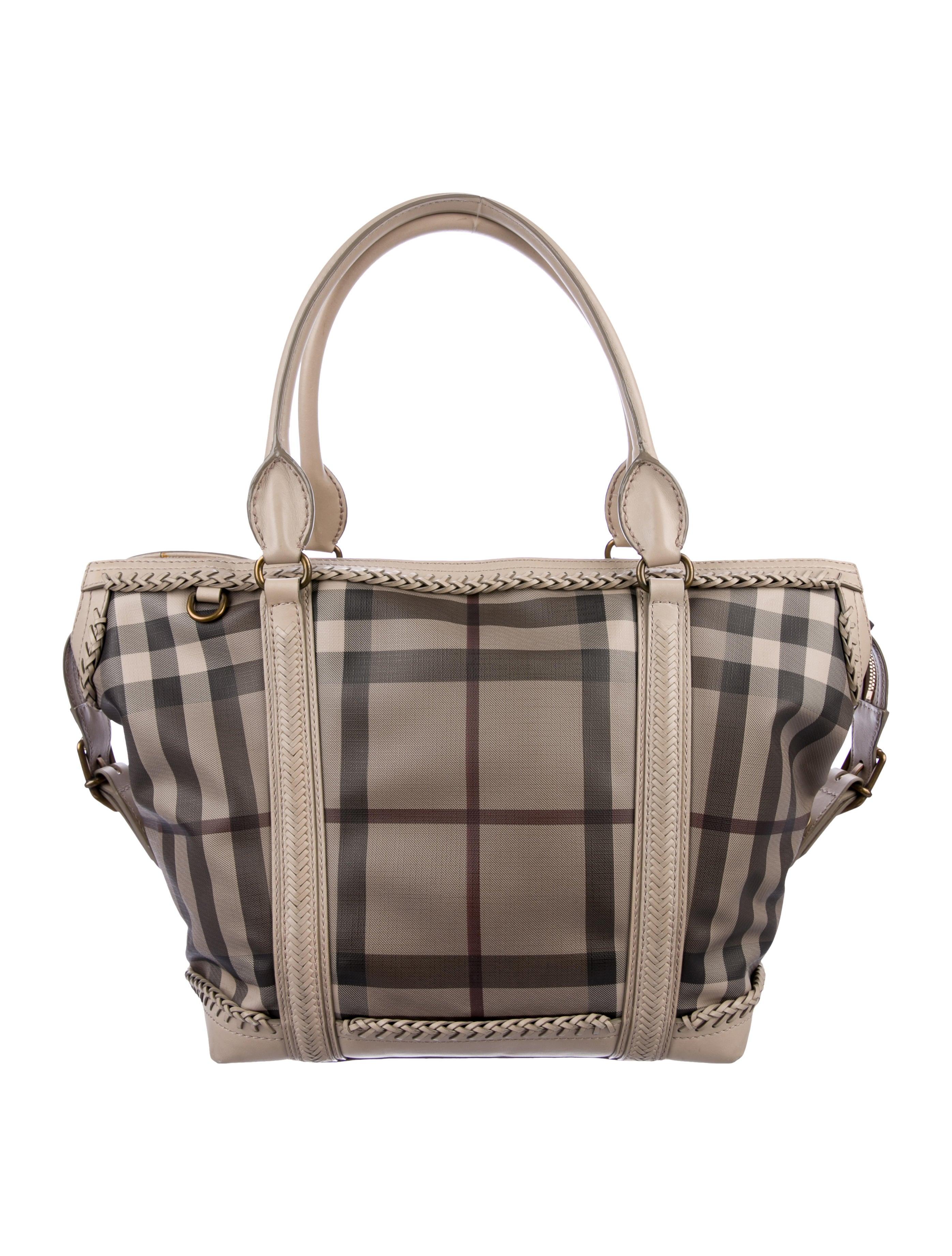 389ff0a34442 Burberry Smoked Check Handbag - Handbag Photos Eleventyone.Org