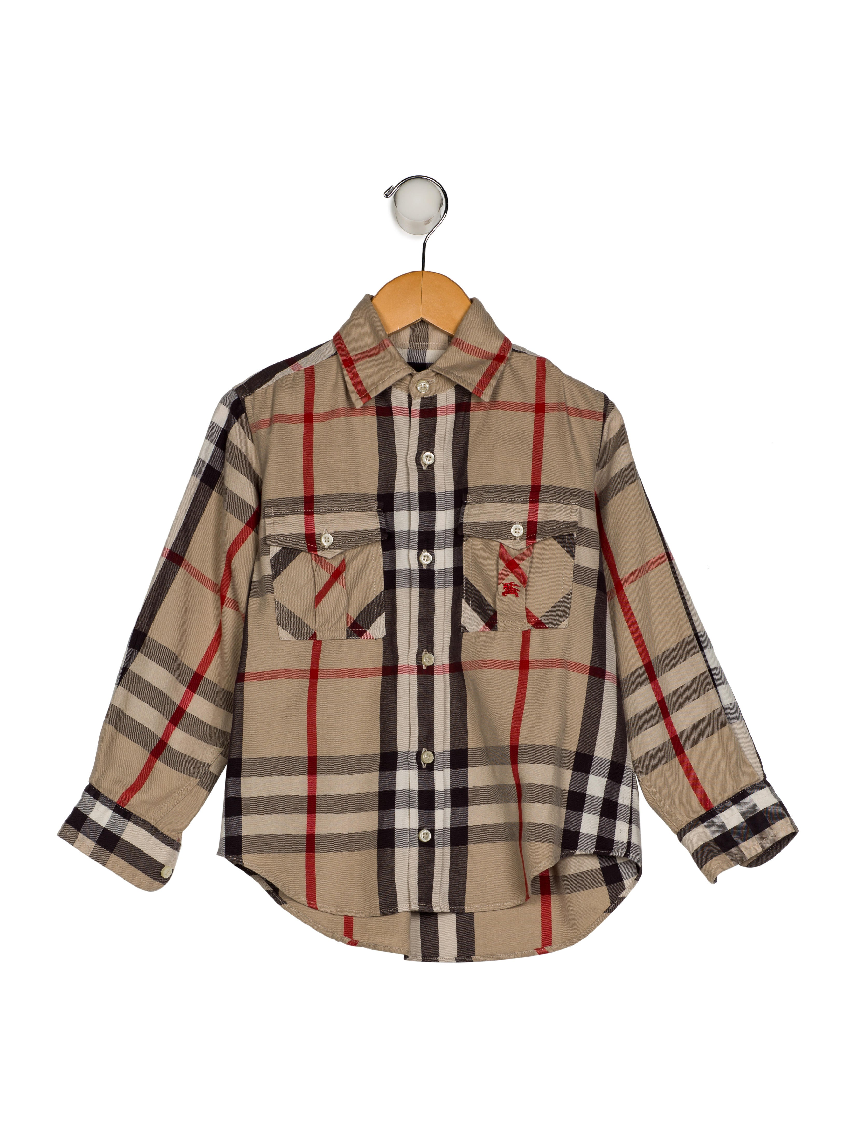 99ab7276 Burberry Boys' Exploded Check Print Shirt - Boys - BUR99575 | The ...