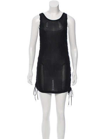 Beau Souci Lace Up Knit Dress w/ Tags None