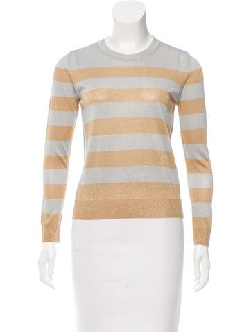 Beau Souci Metallic Striped Sweater w/ Tags None