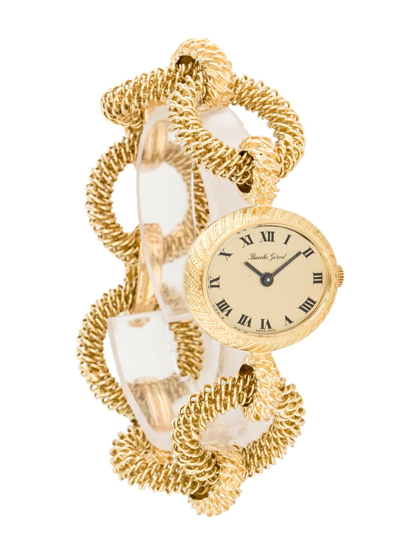 bueche girod 18k 1960 vintage watch bracelet buy20001 the 18k 1960 vintage watch