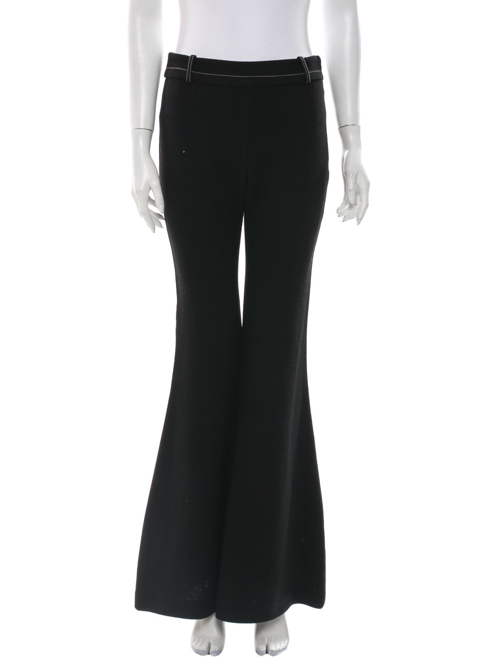 BY. Bonnie Young Wool Wide Leg Pants Wool - image 1