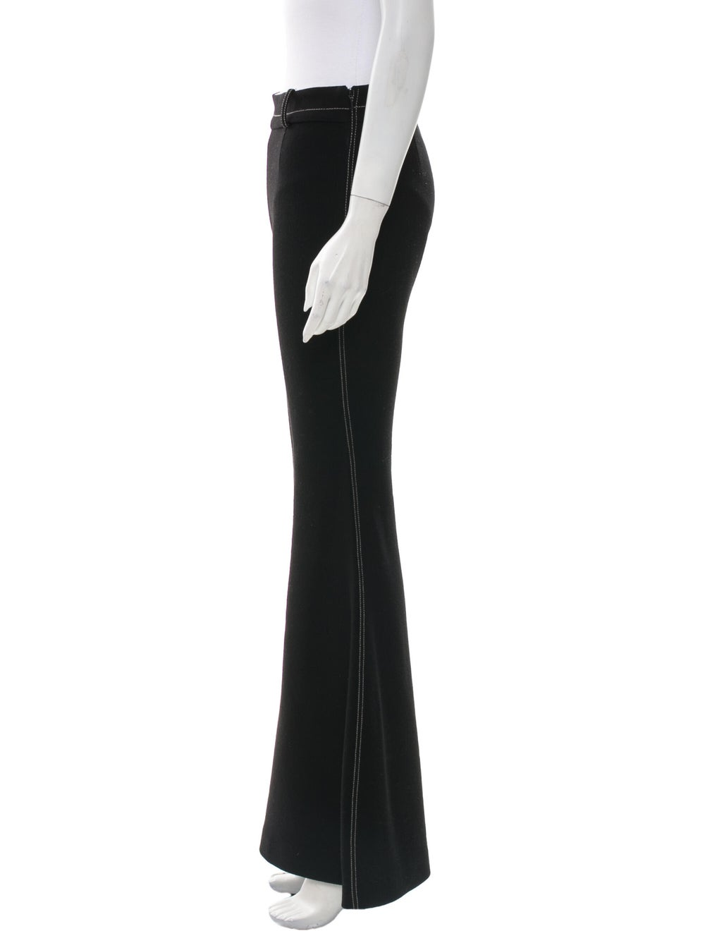 BY. Bonnie Young Wool Wide Leg Pants Wool - image 2