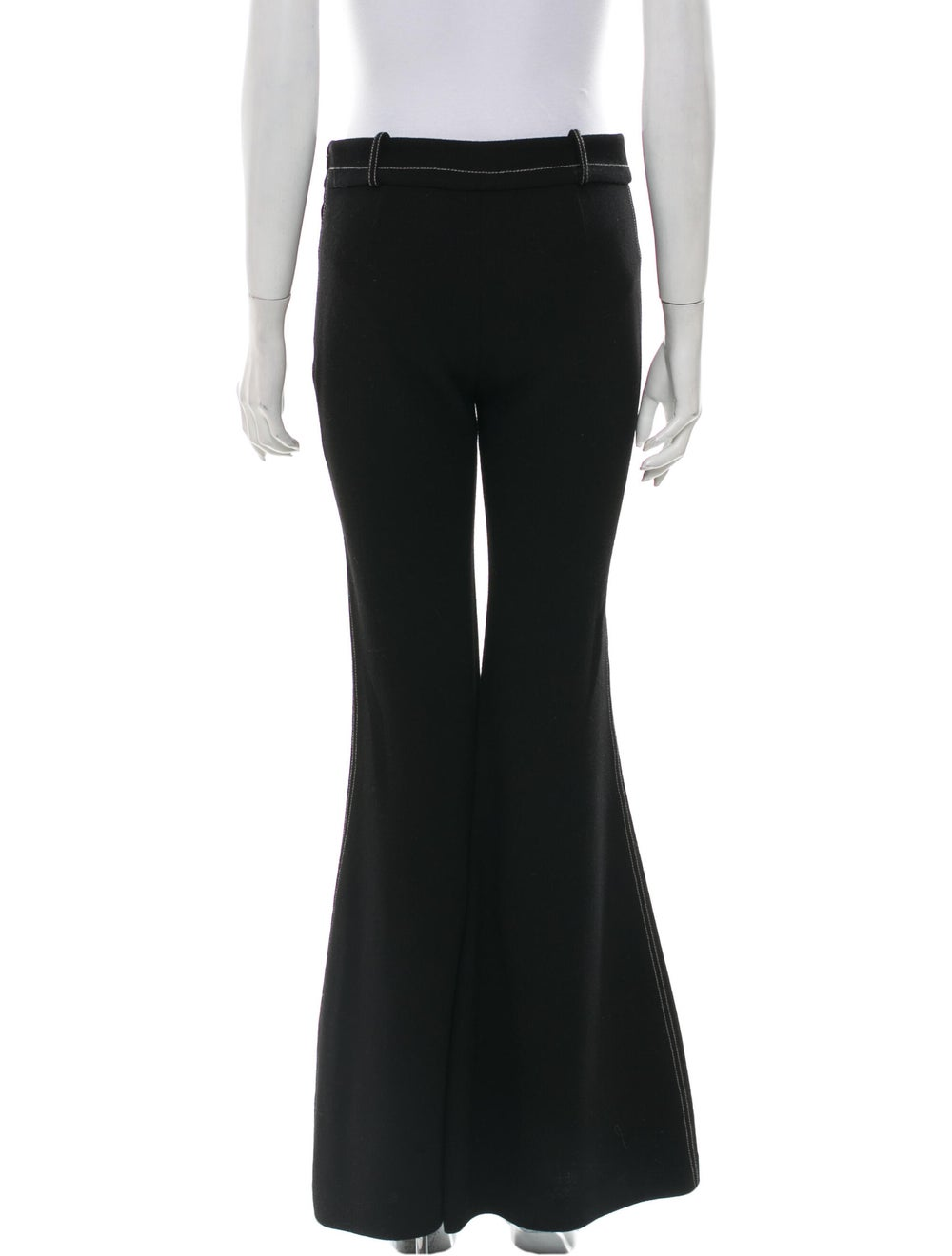 BY. Bonnie Young Wool Wide Leg Pants Wool - image 3