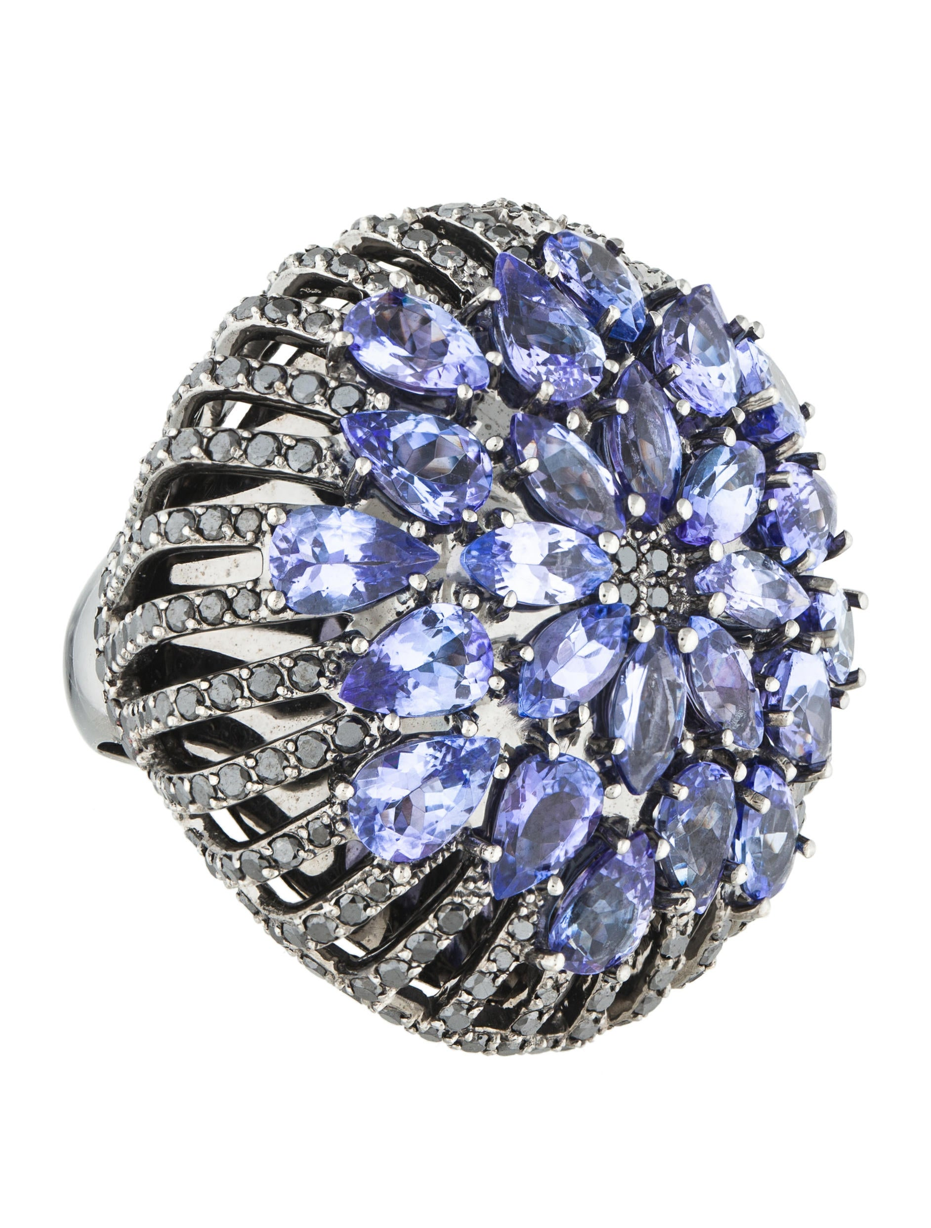 rocks diamond asherton ring tanzanite fullxfull products il in black ulka gold