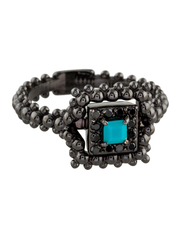 carla amorim 18k turquoise ring rings